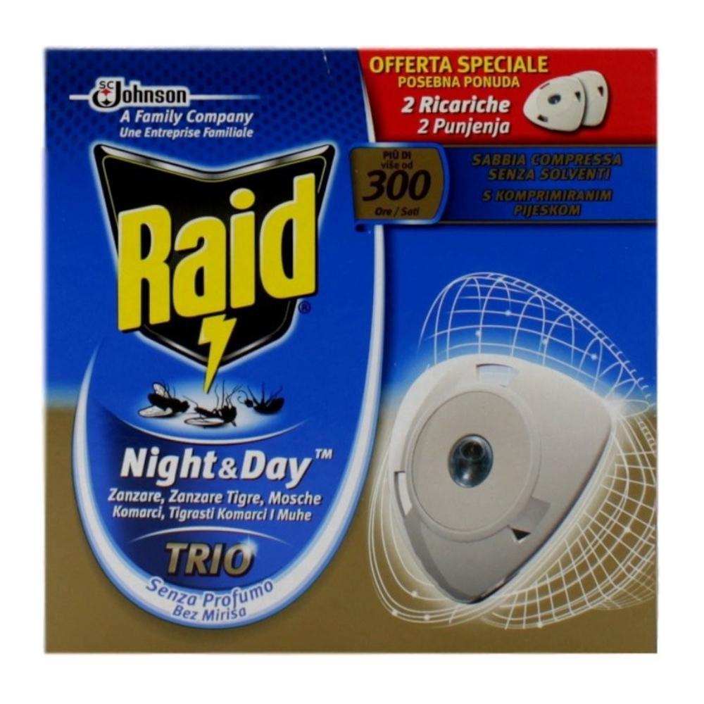 RAID Night&Day Trio Doppia Ricarica 300 ore