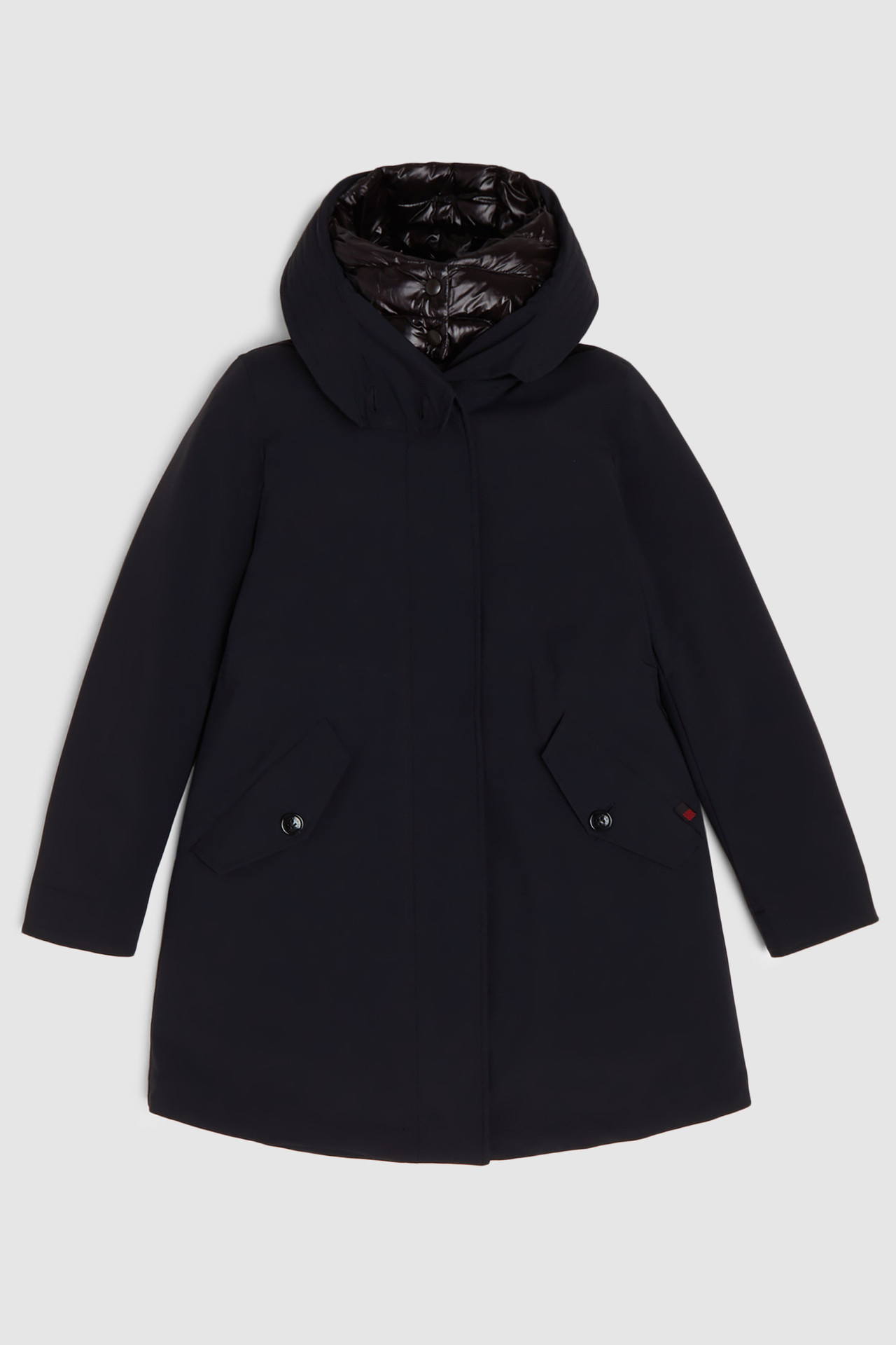 Giacca donna WOOLRICH MILITARY PARKA STRETCH 3in1