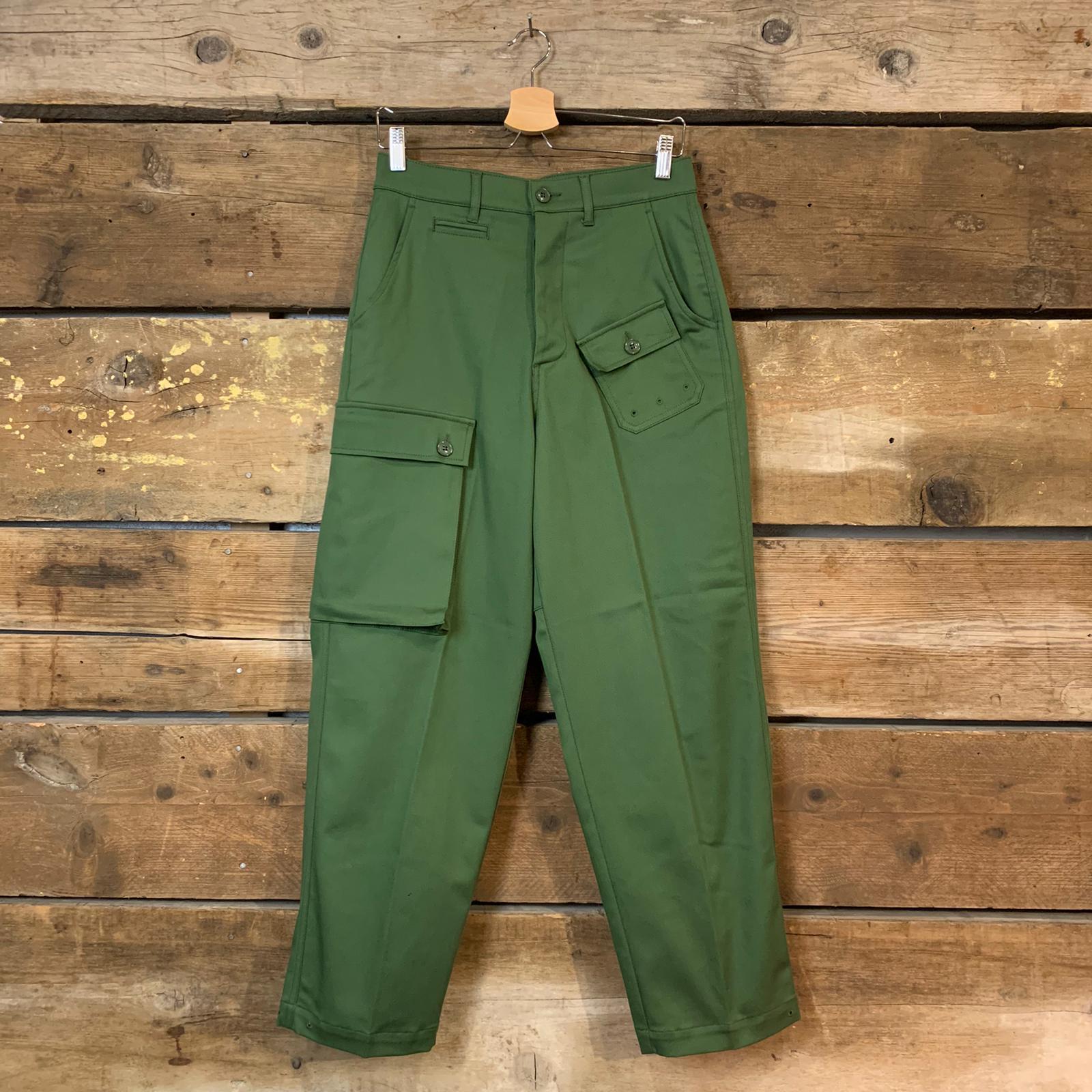 Pantalone Donna Department 5 Cargi con Tasconi Verde Militare