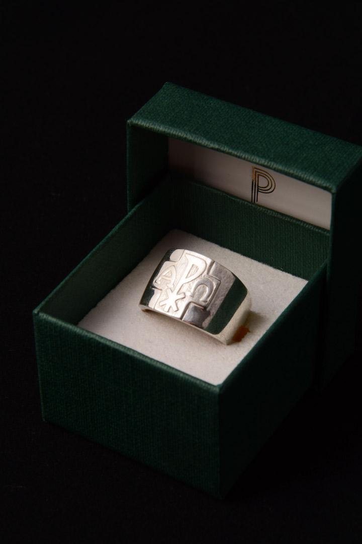 Anello Vescovile in argento