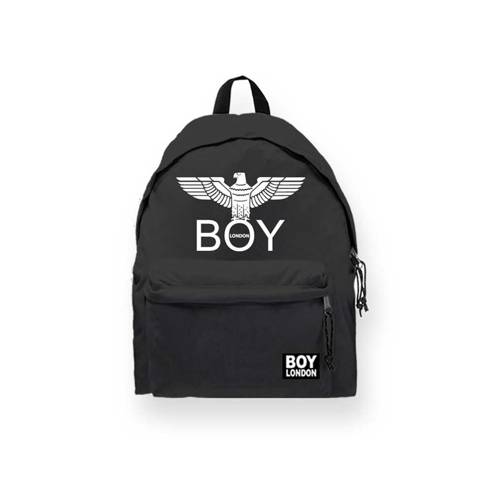Boy London Zaino Nero Bianco Logo