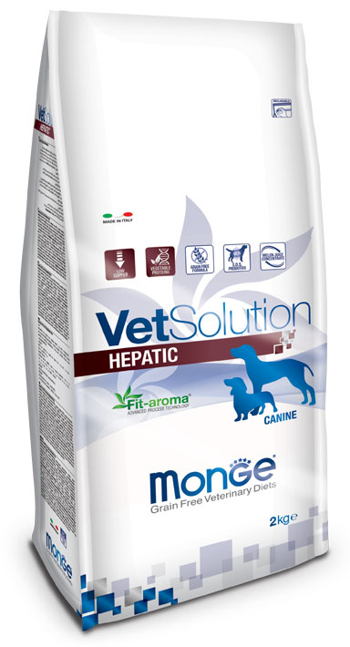 MONGE VET SOLUTION HEPATIC CANINE ADULT 2 KG