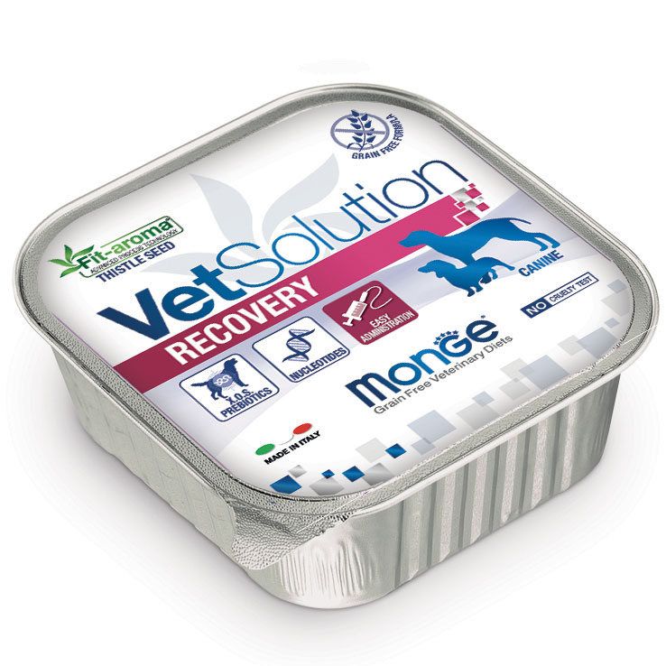MONGE VET SOLUTION RECOVERY CANINE PATE' ADULT 150 GR