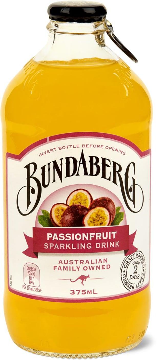 Bibita Bundaberg Passion Fruit Sparkling Drink CL.37.5