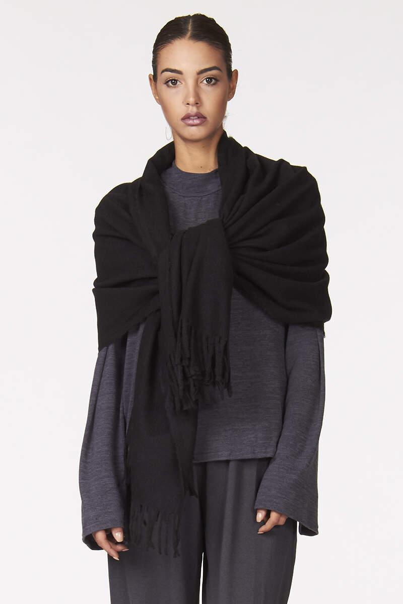 Sciarpa tipo Pashimina  lana e viscosa    Sciarpe donna vendita on line