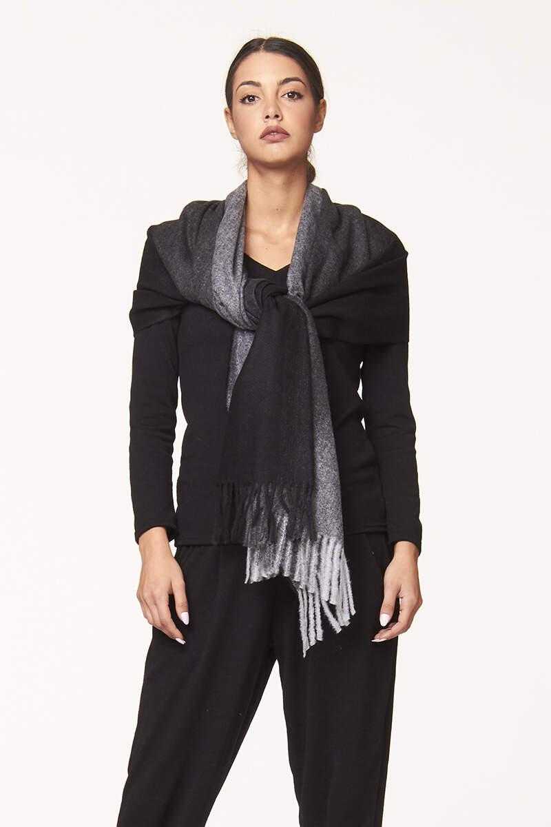 Sciarpa toni di colore  | Vendita accessori abbigliamento donna