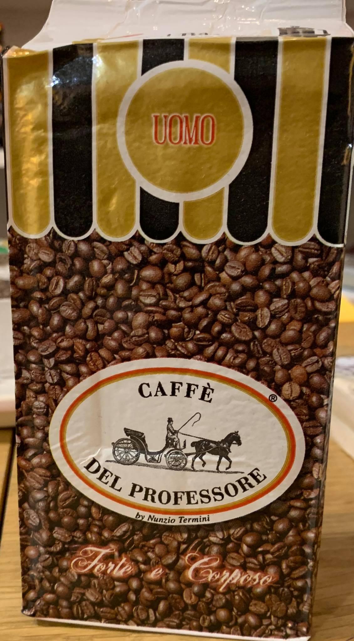 250 GR MACINATO CAFFE' DEL PROFESSORE UOMO