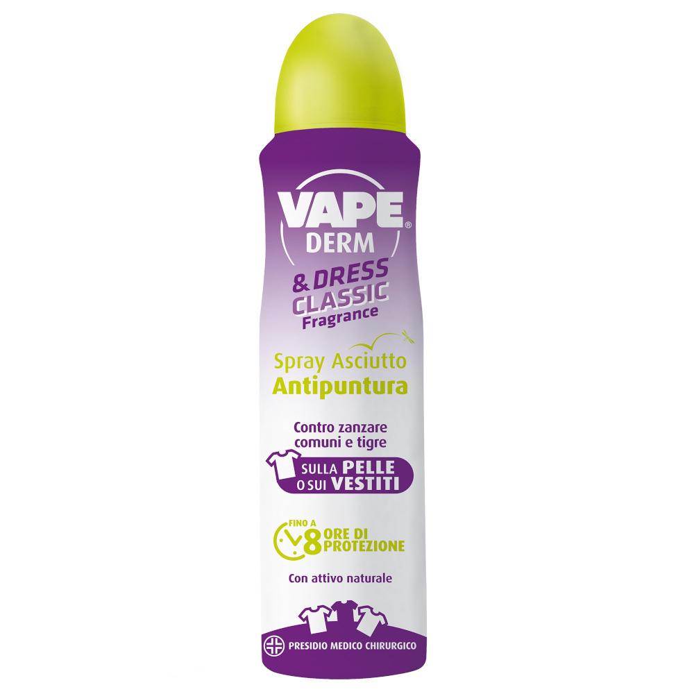 VAPE DERM&DRESS Antizanzare Spray 150ml