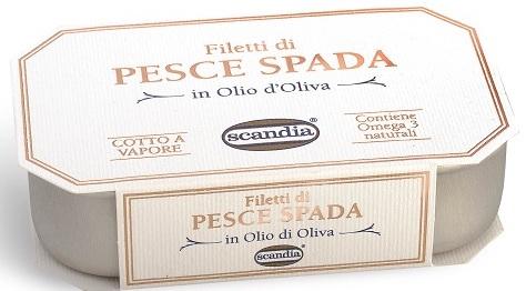 Scandia Filetti di Pesce Spada GR.120