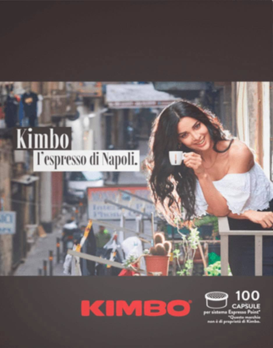 100 CAPSULE ESPRESSO POINT KIMBO