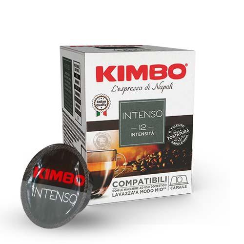 80 CAPSULE KIMBO A MODO MIO INTENSO