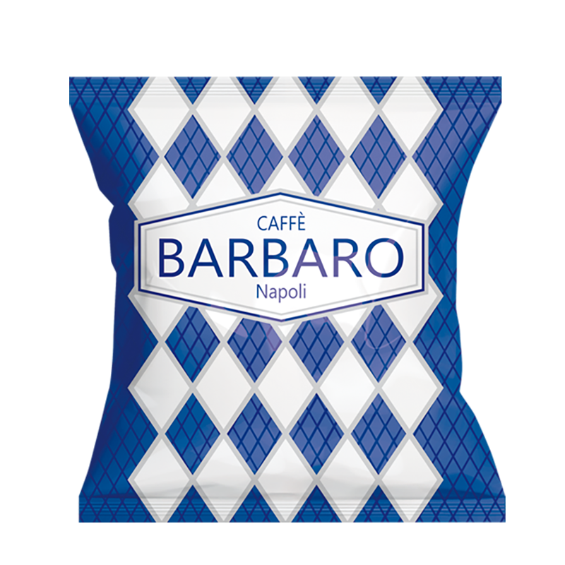 100 CAPSULE BARBARO CREMOSO NAPOLI LAVAZZA FIRMA