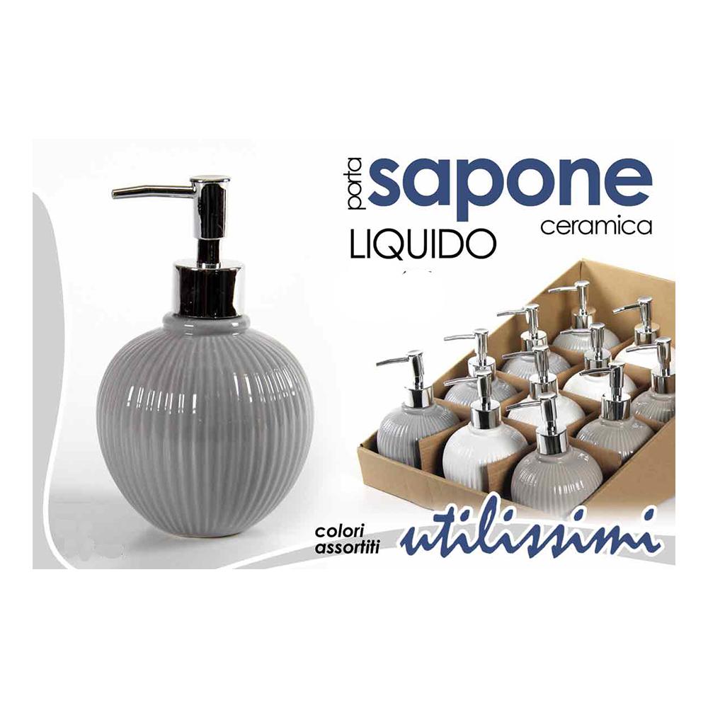 Dispencer Portasapone Liquido in Ceramica