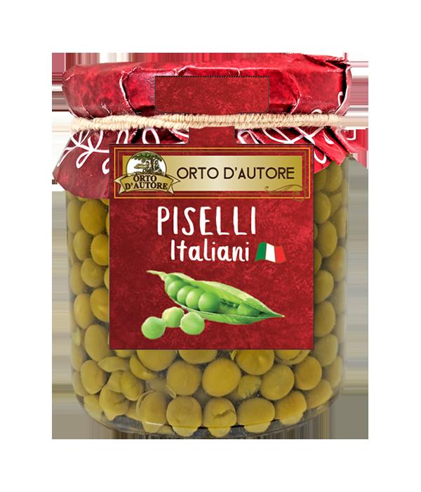 Orto D'Autore Piselli Italiani Al Naturale GR.310