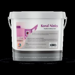 Koral Ninfea idro pittura lavabile bianca per interni 5l