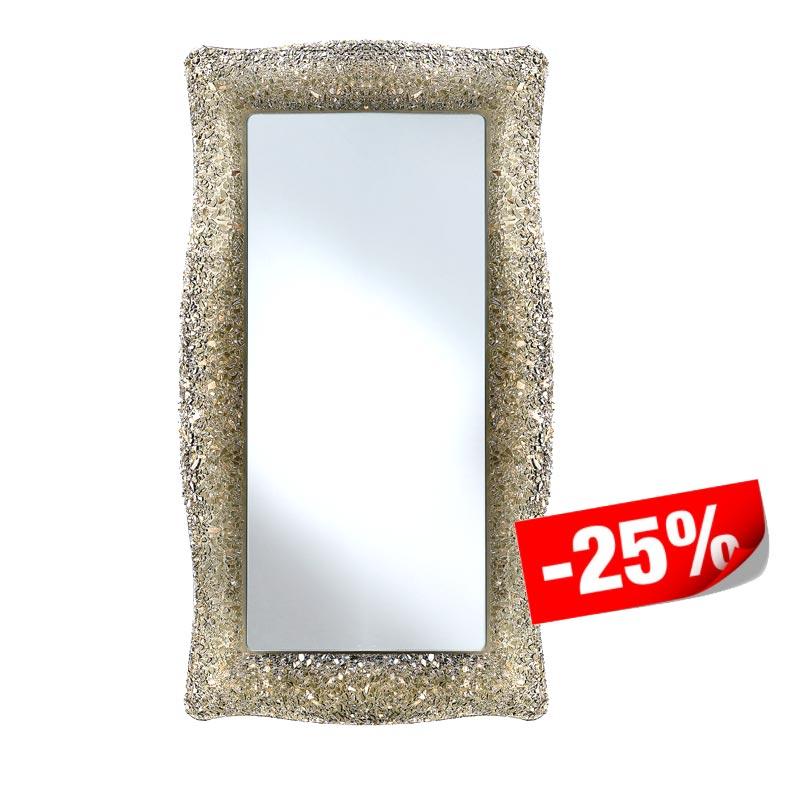 Spiegel mit Glasrahmen 58 x 98 cm - PROMO