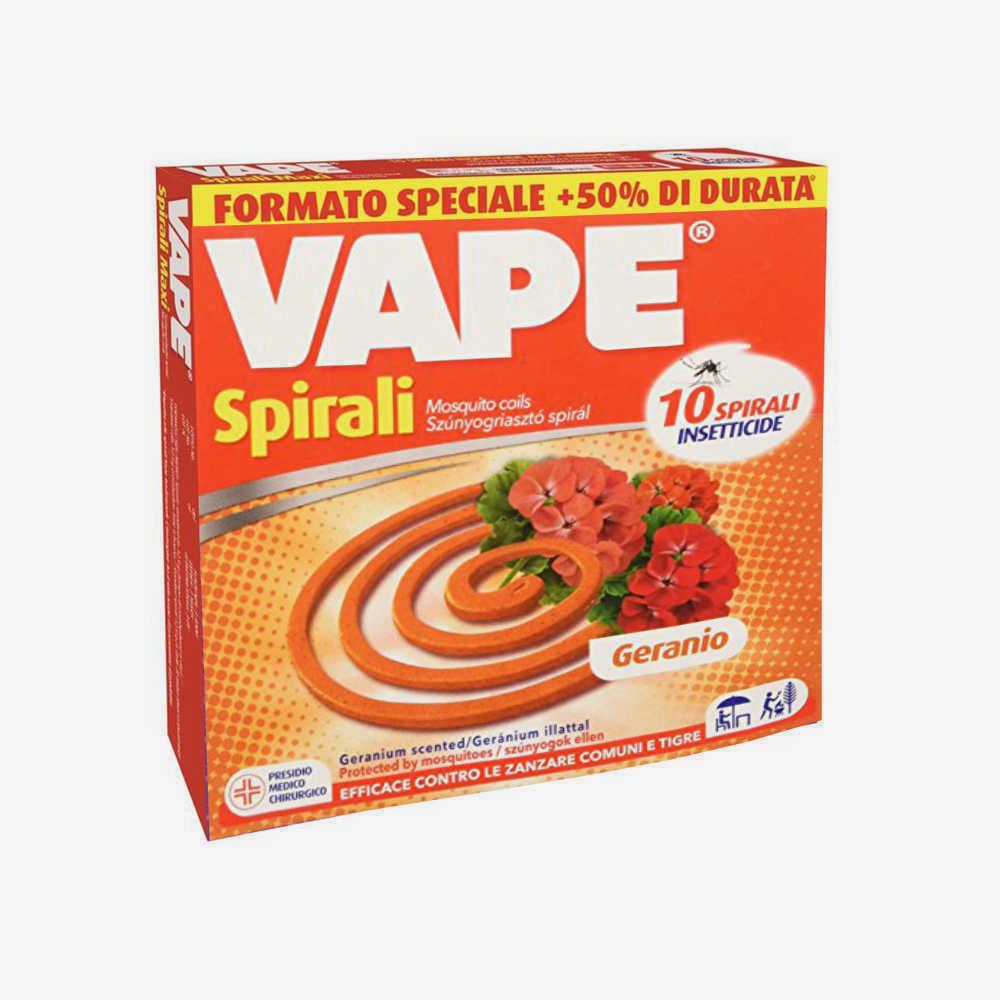 VAPE Spirale Profumata Geranio 10 Pezzi