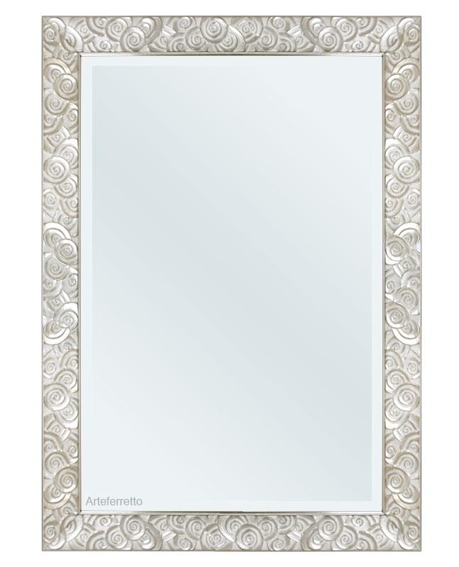 Rechteckiger Spiegel 100 x 70 cm Ringe