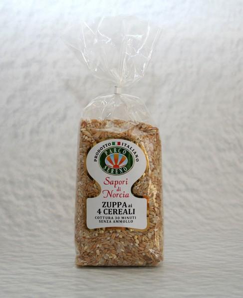 Zuppa ai 4 Cereali Italia Cellophane GR.500