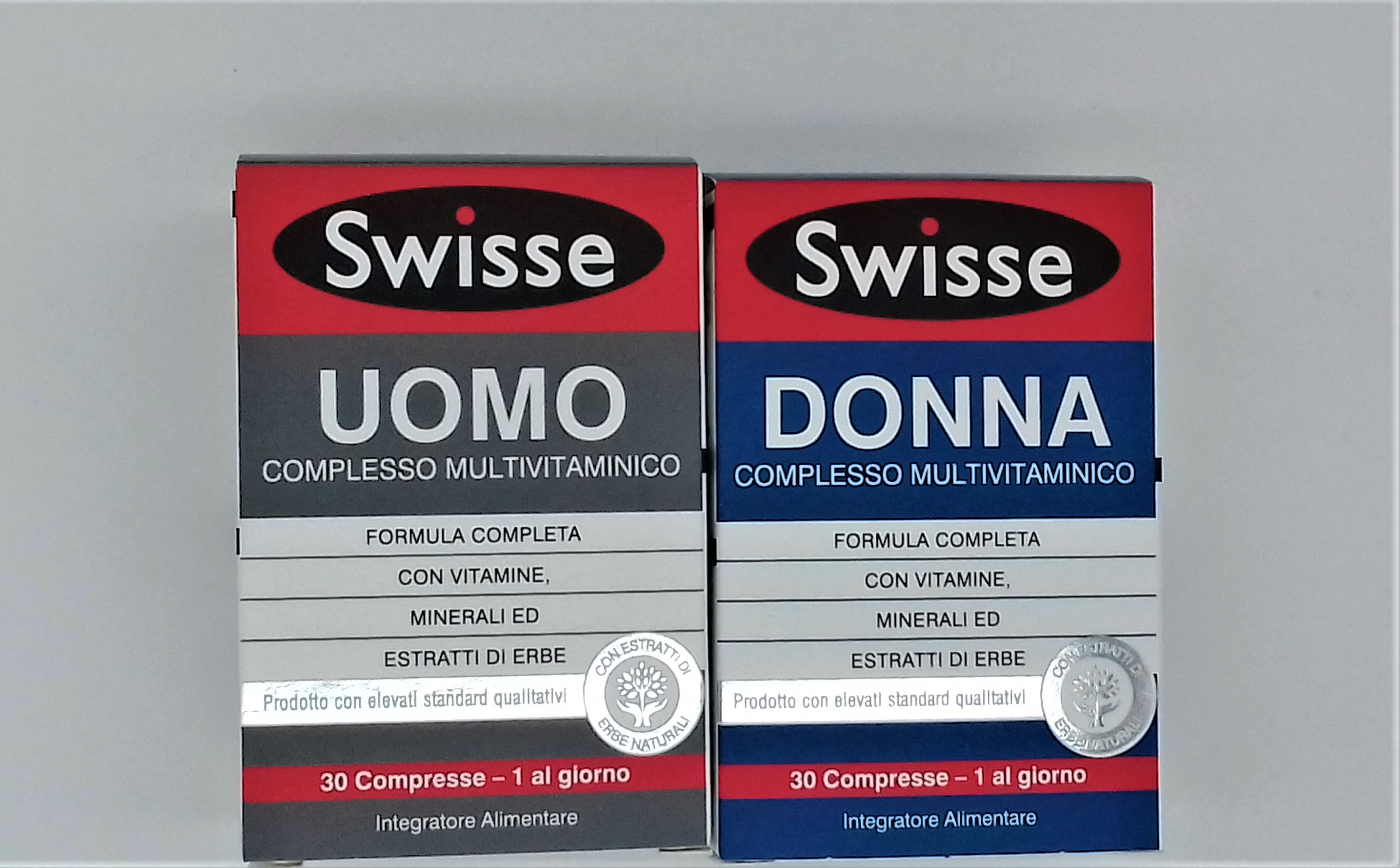 SWISSE DONNA 30 CPR E SWISSE UOMO 30 CPR