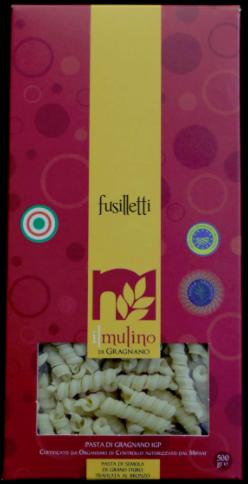 Pasta Il Mulino di Gragnano Fusilletti GR.500