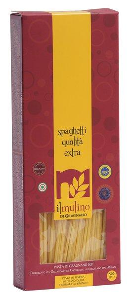 Pasta Il Mulino di Gragnano Spaghetti Extra GR.500