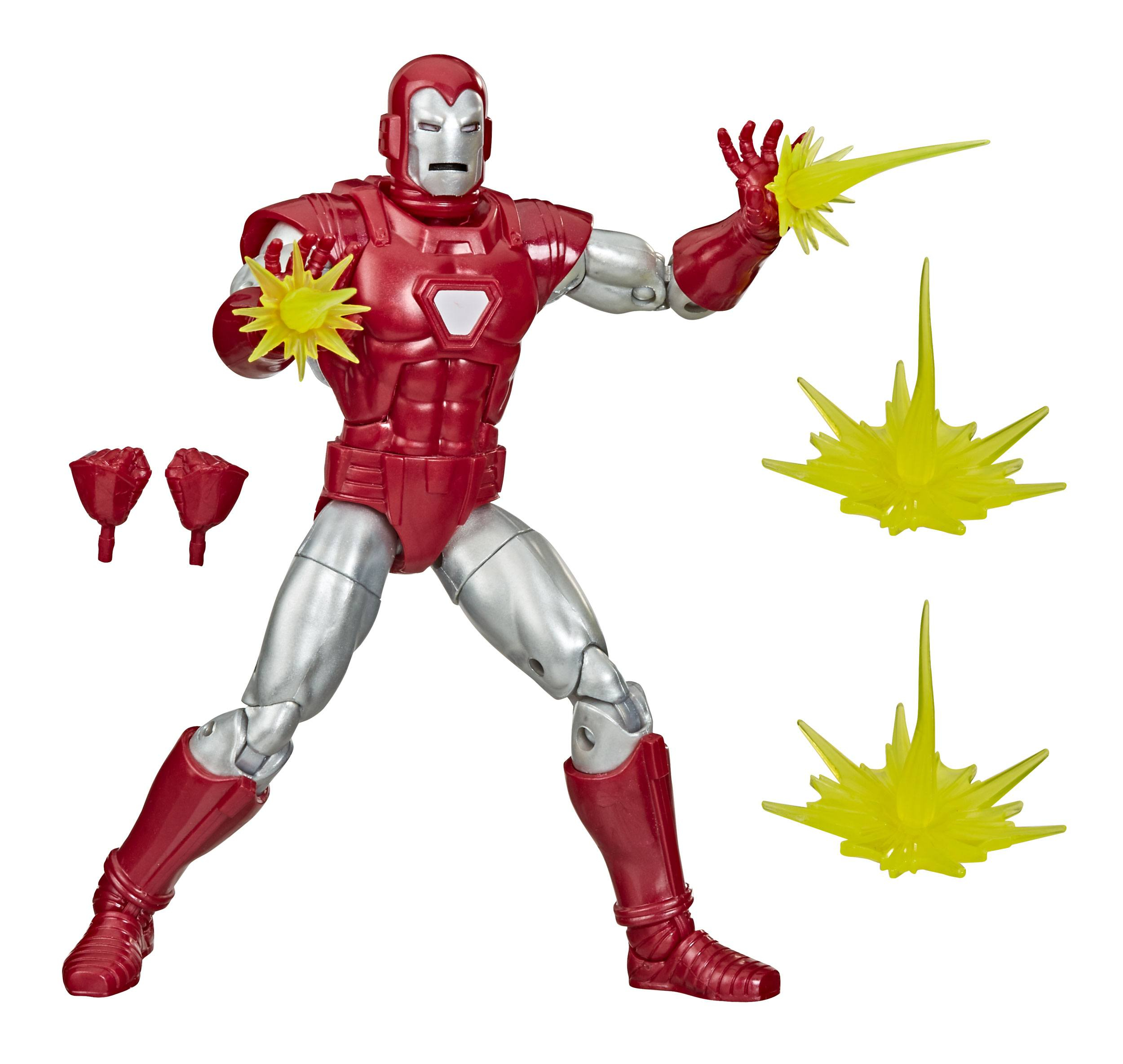 *PREORDER* Marvel Legends Series Action Figure: IRON MAN - SILVER CENTURION by Hasbro