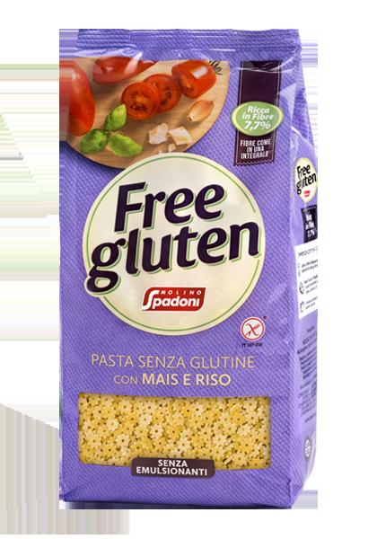 Spadoni Stelline Mais e Riso Senza Glutine GR.500