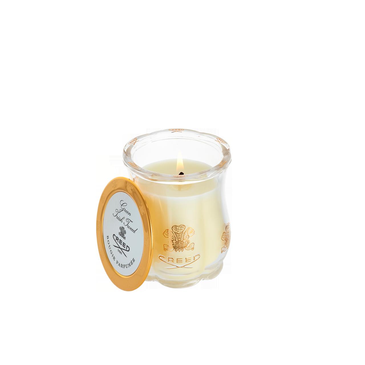 Green Irish Tweed Candle
