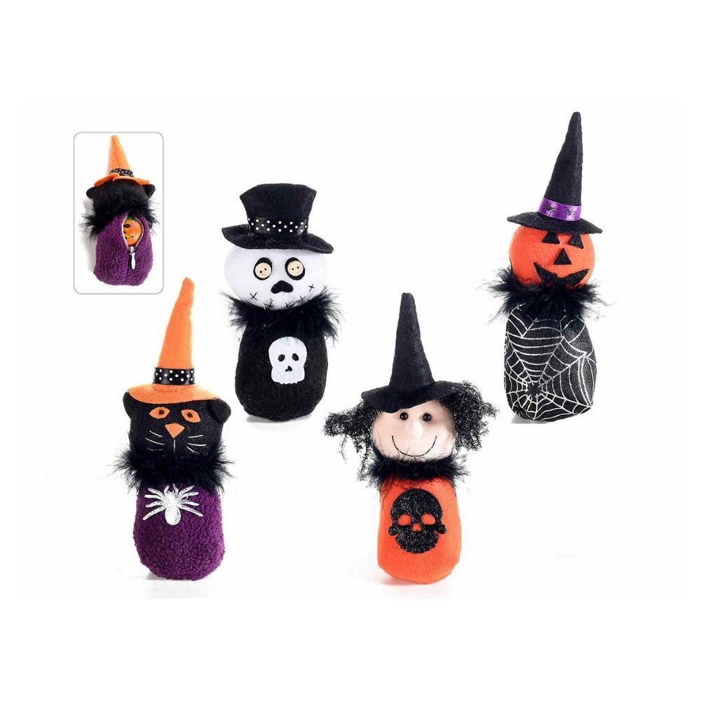 Set 8 personaggi Halloween con cerniera portadolci