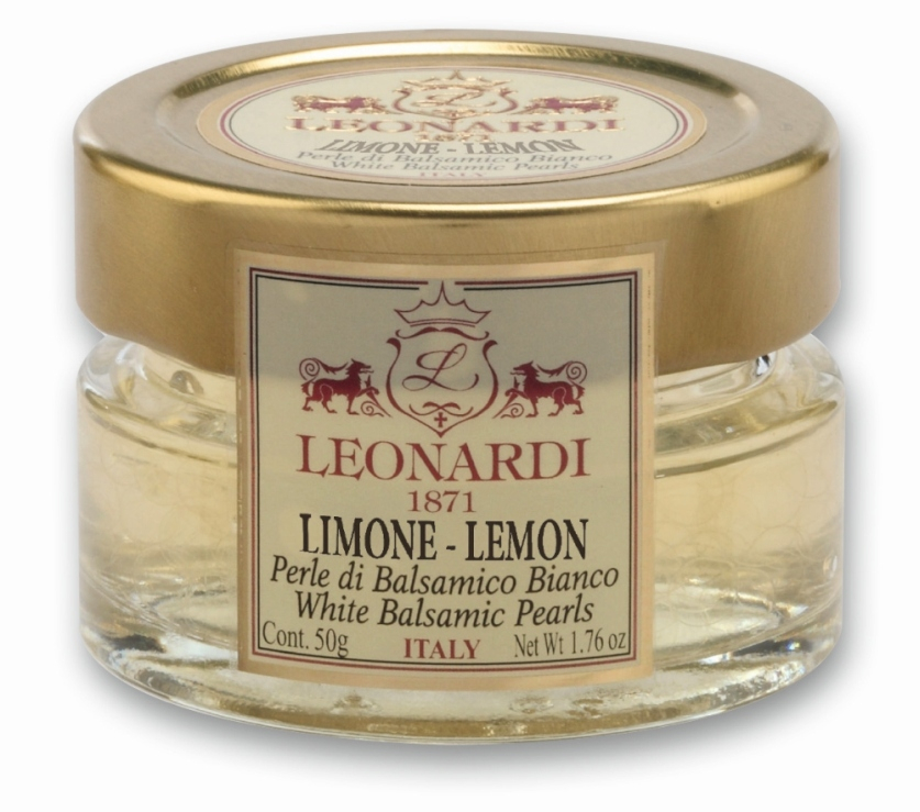 Acetaia Leonardi Perle di Aceto Balsamico Bianco al Limone GR.50