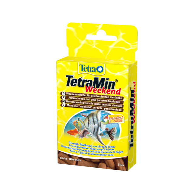 TETRAMIN WEEKEND Stick compatti per l'alimentazione di tutti i pesci ornamentali 20 STICK