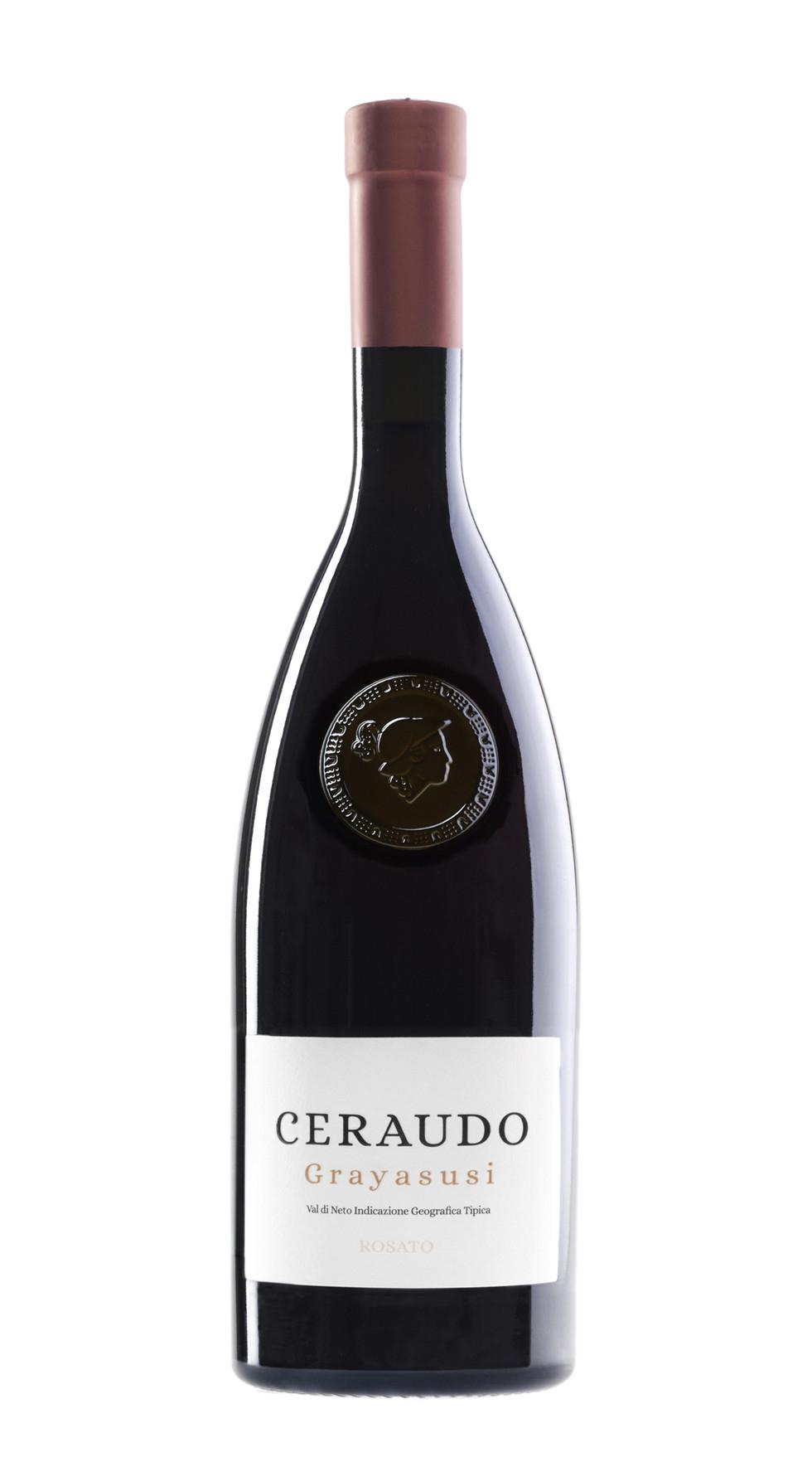 Vino Ceraudo Grayasusi IGT Rosato Etichetta Rame CL.75
