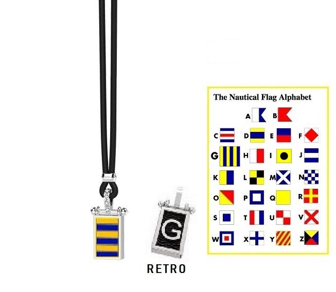 Zancan Collana Nautica, Bandiera Alfabeto Nautico, Lettera G