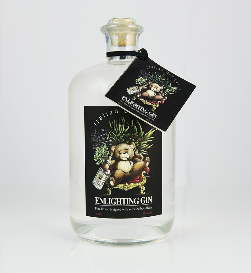 Enlighting Gin Black Label 1500 ml