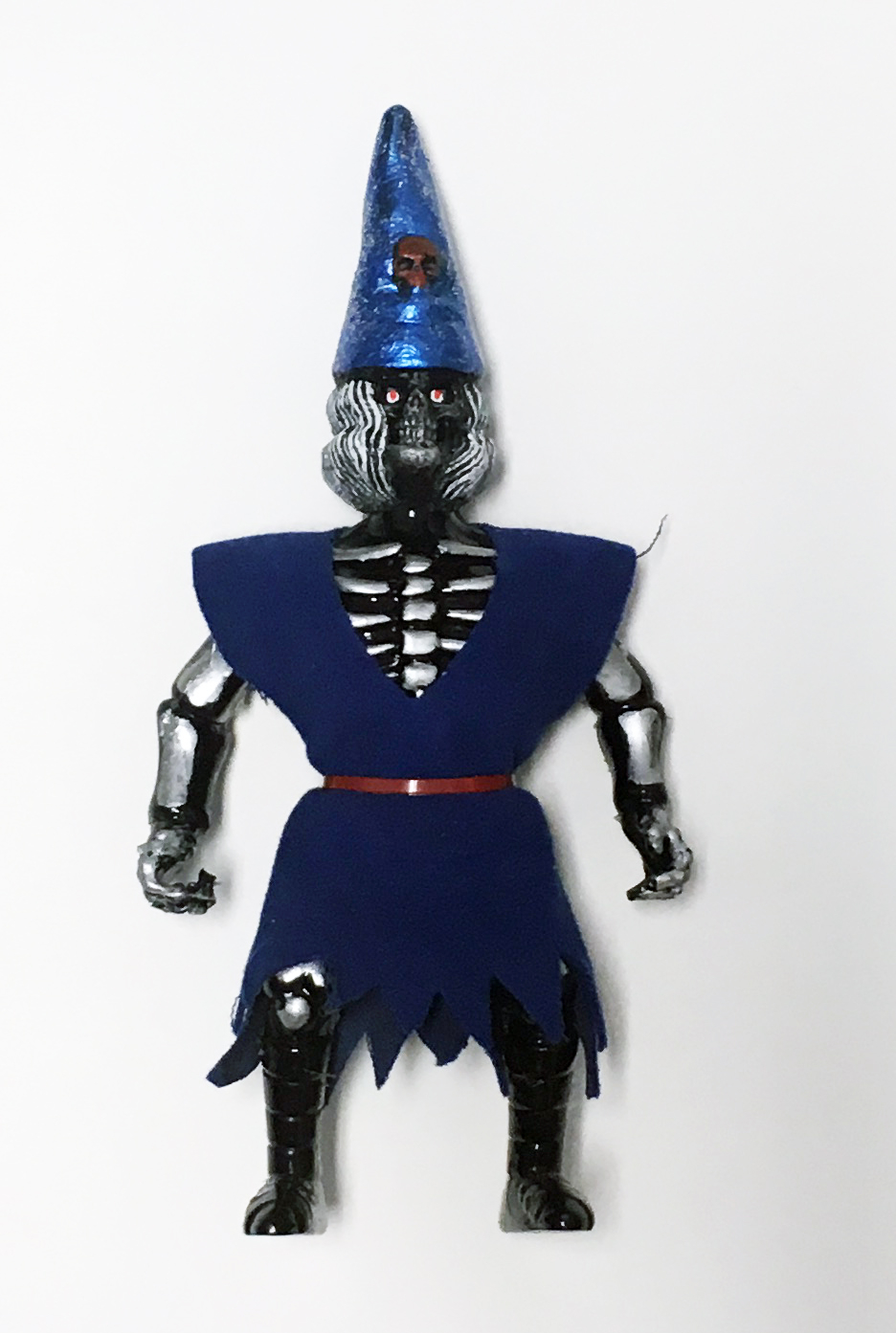 Musculoids figure: Necro Wizard Skeletoid