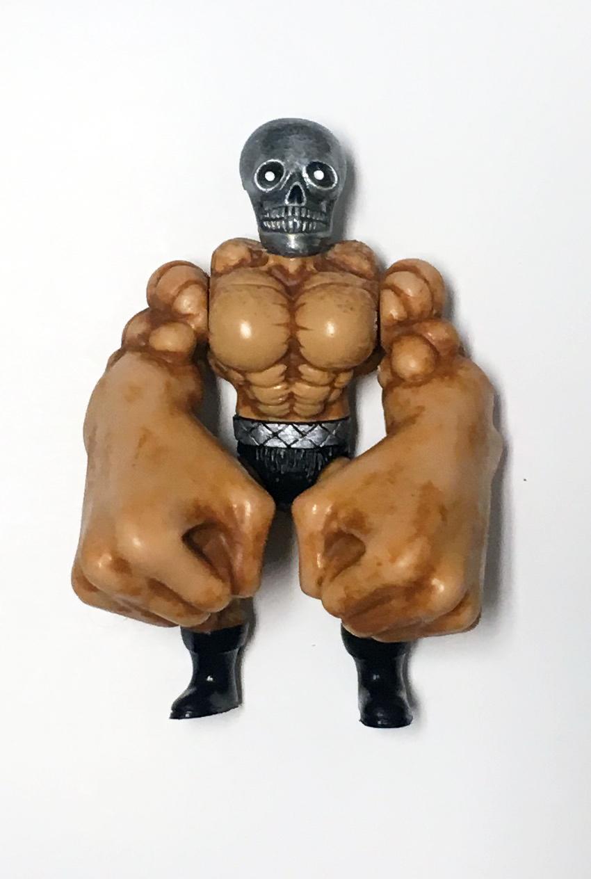 Musculoids figure: Knuckles