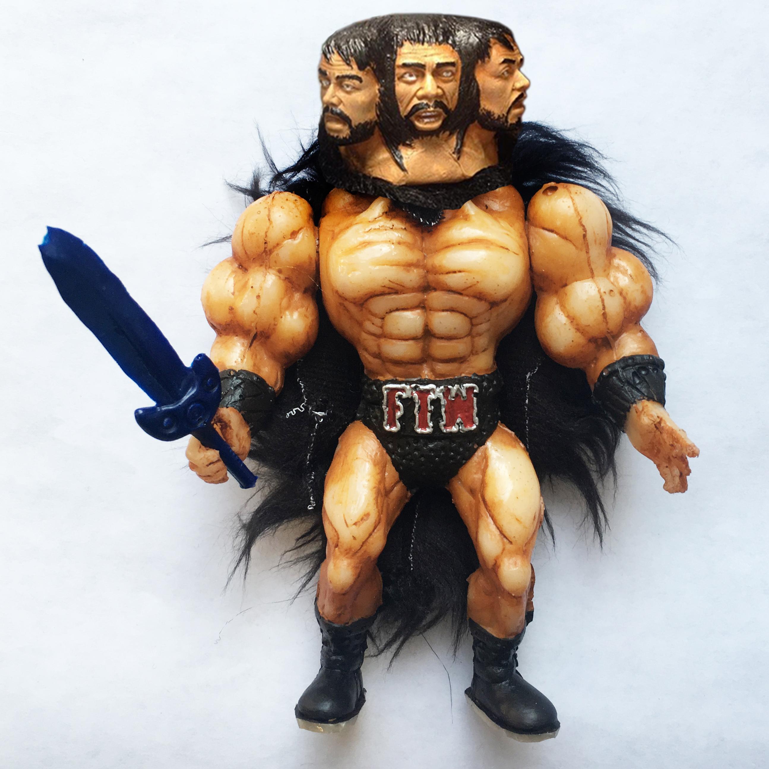 Musculoids figure: Bezerker