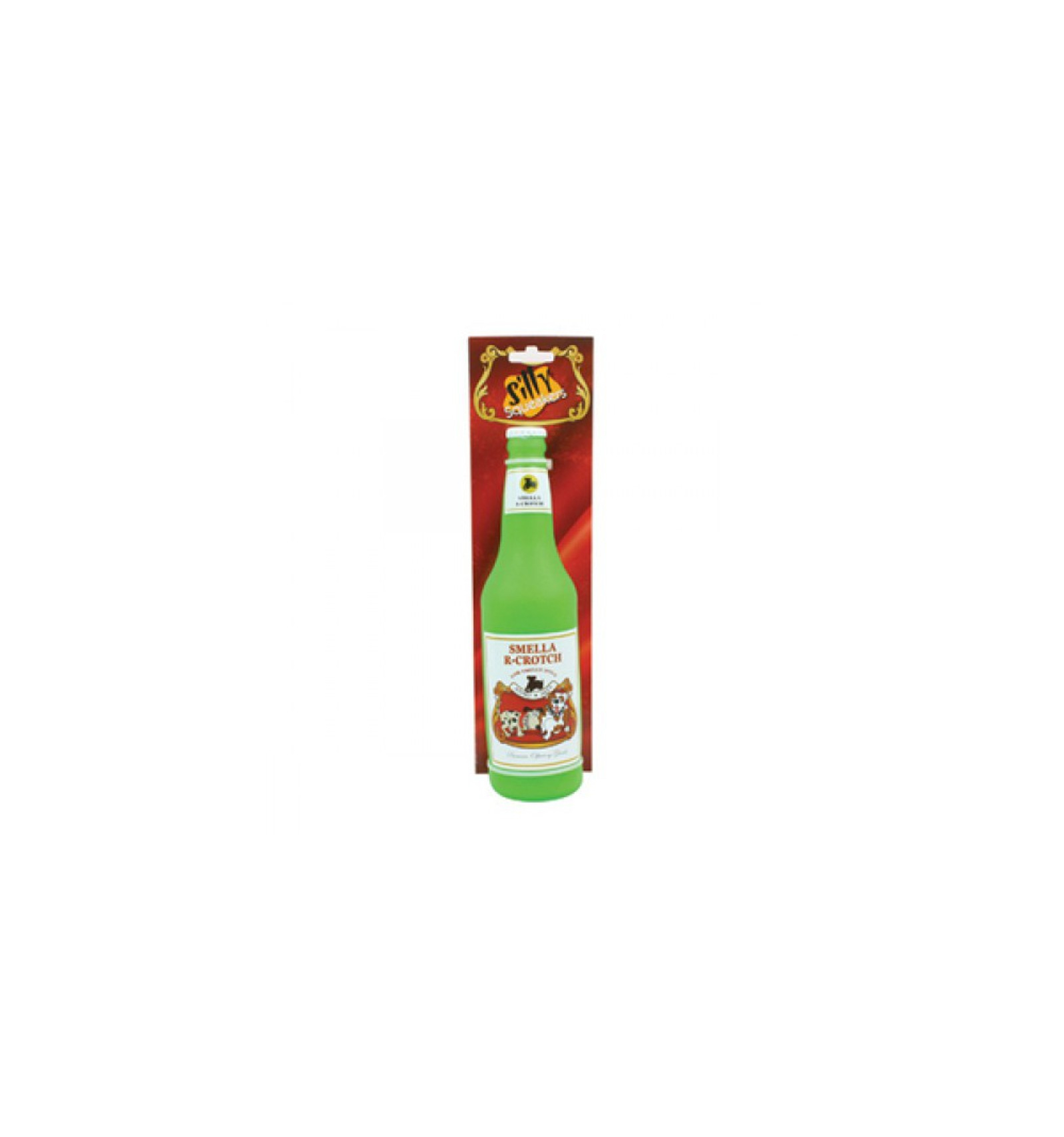 TUFFY SILLY SQUEAKER BEER BOTTLE SMELLARCROTCH IN LATTICE