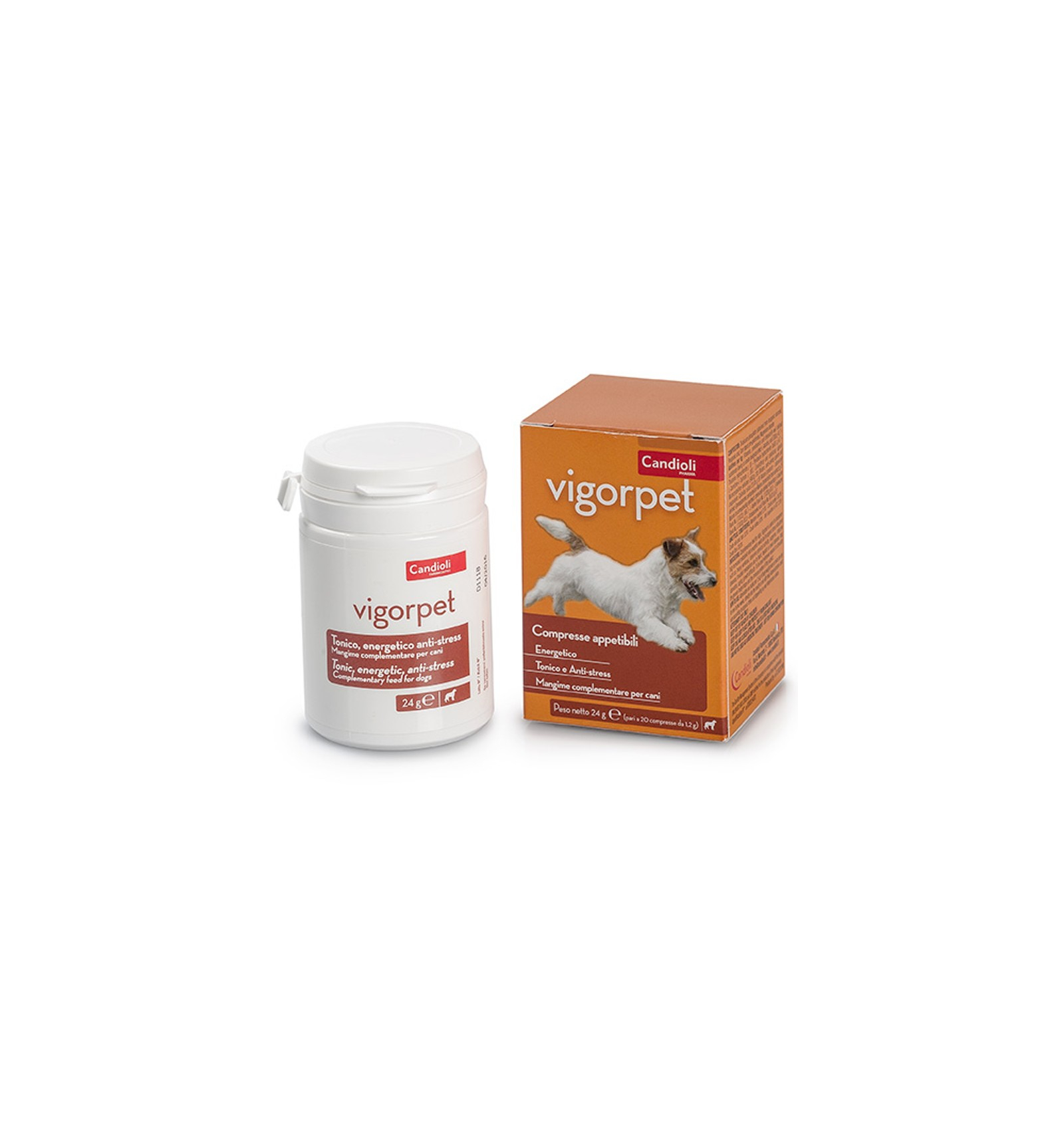 VIGOR PET CANI 20 COMPRESSE
