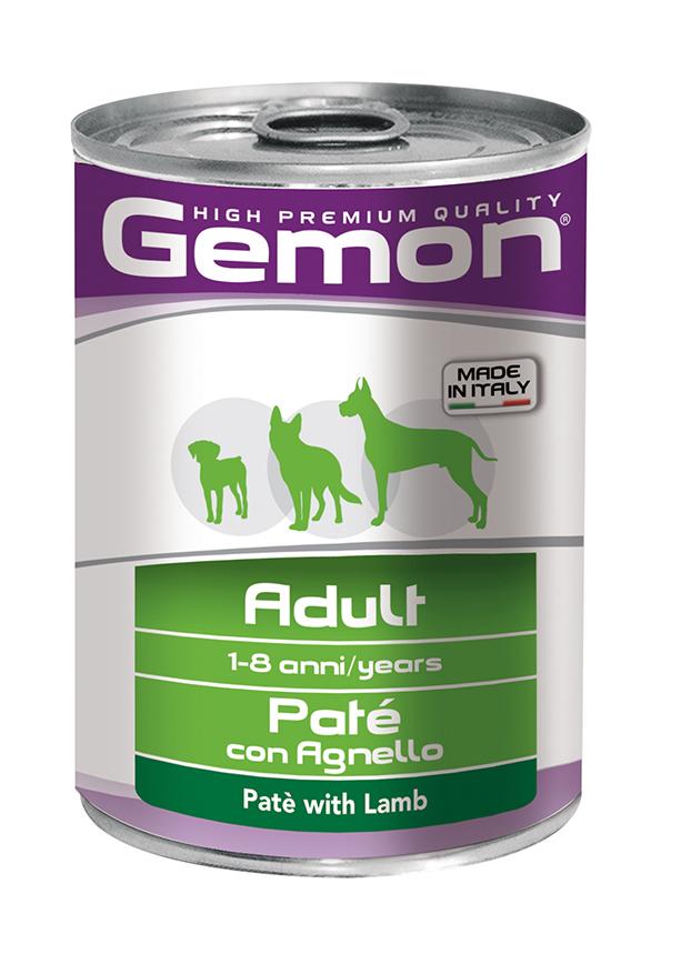 GEMON ADULT  - PATE' CON AGNELLO 400 GR