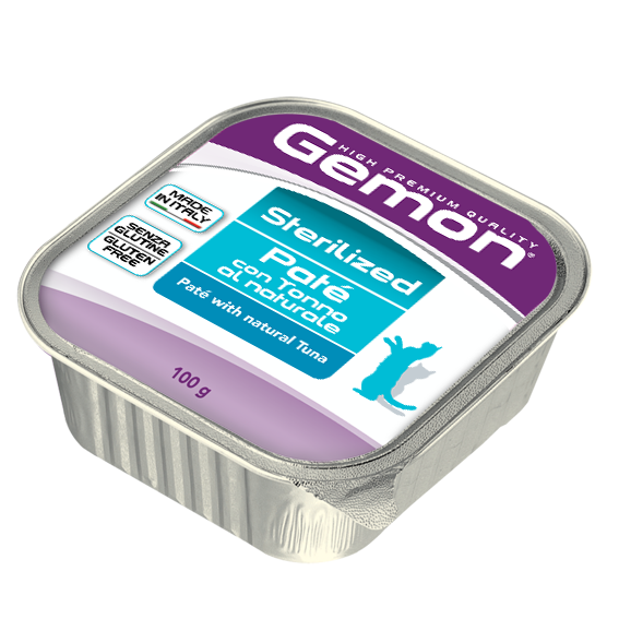 GEMON CAT PATE' STERILISED TONNO 100 GR