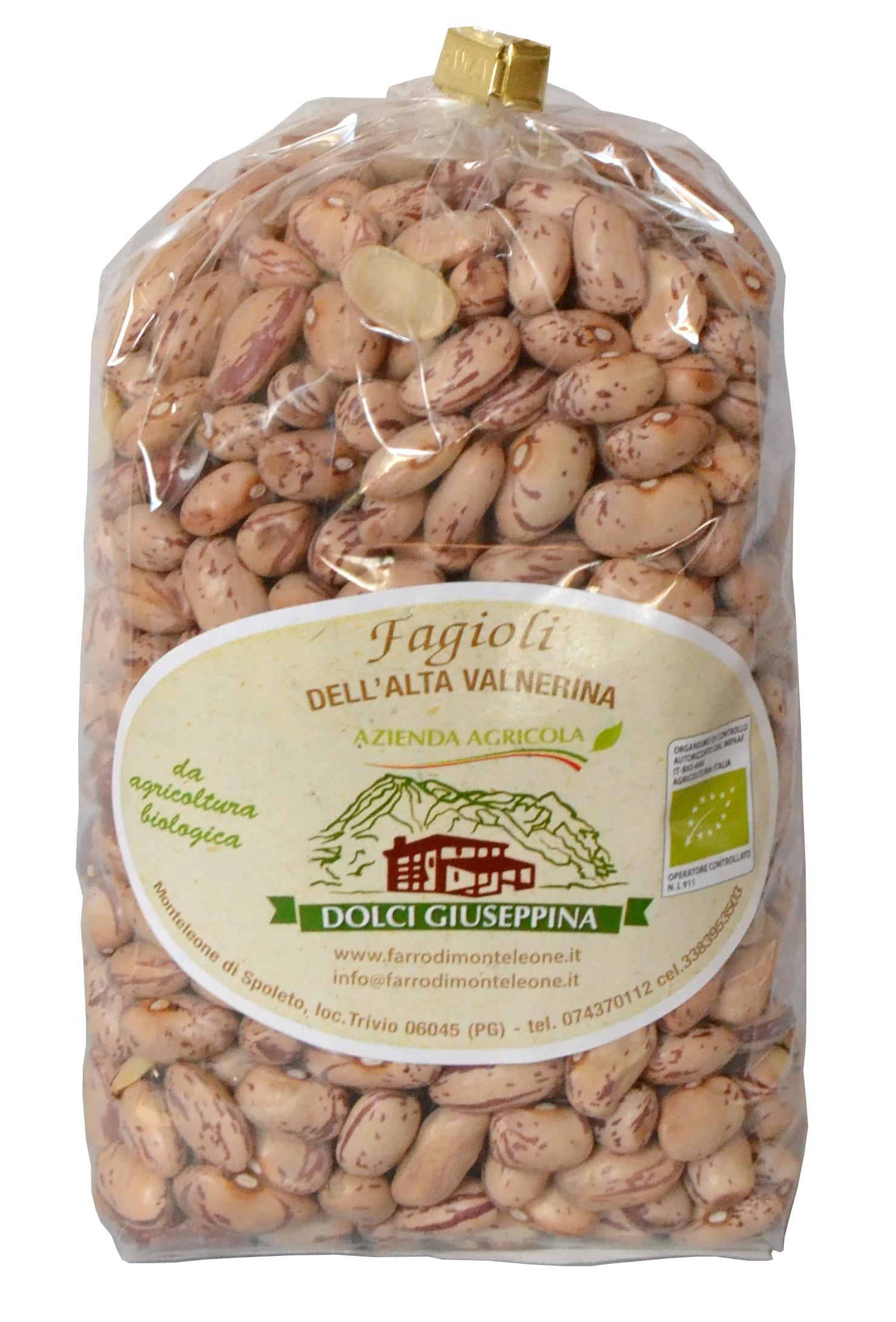 Borlottibohnen biologisch Packung gr 500