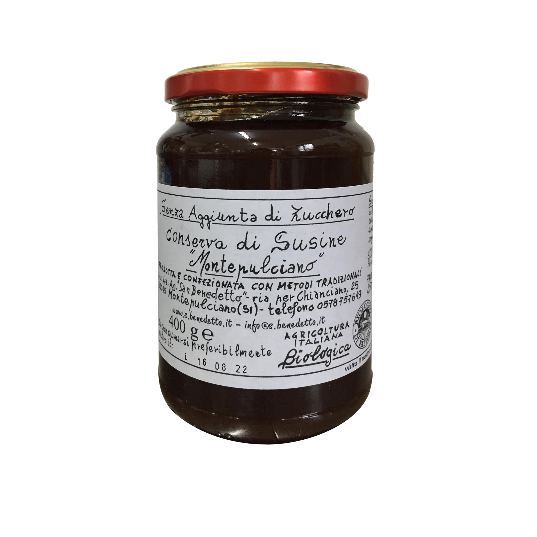 BIOLOGISCHEN Konserviert Pflaumen glas gr 400