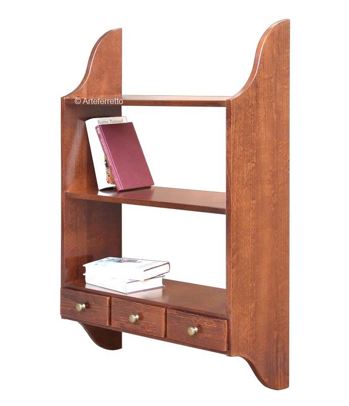 Mueble de pared 3 cajones en madera