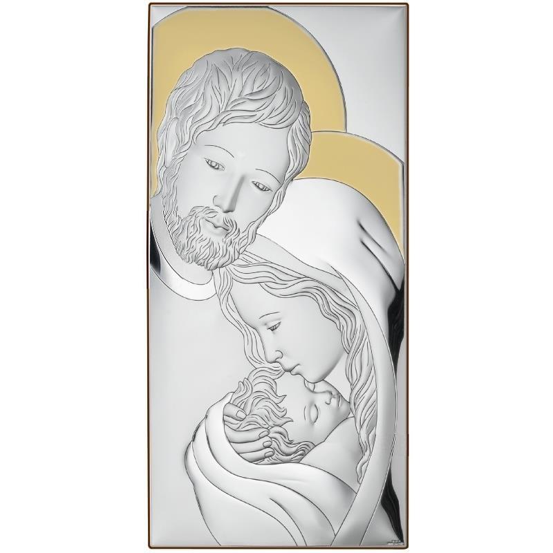 Valenti & Co Icona Sacra Famiglia, con Doratura