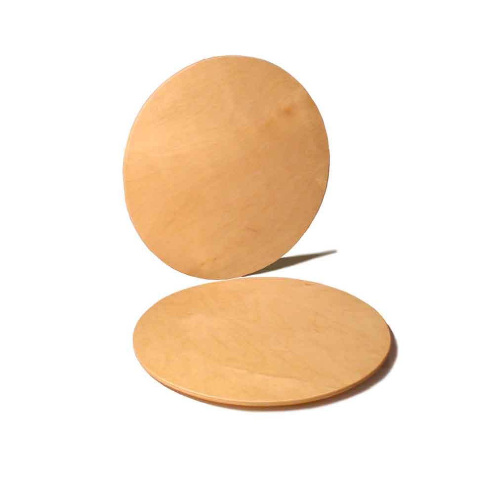 Set sottopiatto rotondo in legno di Betulla 28cm