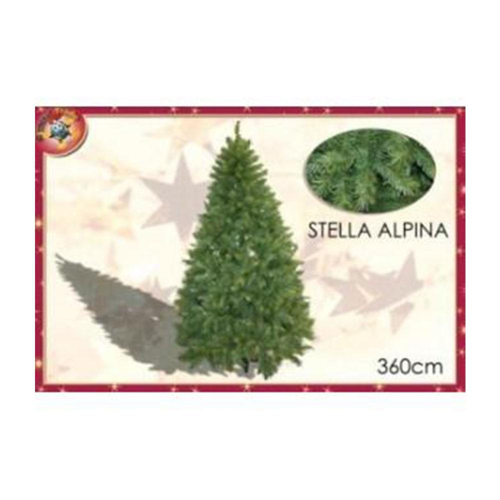 General Trade Albero Di Natale Stella Alpina 3,6Mt