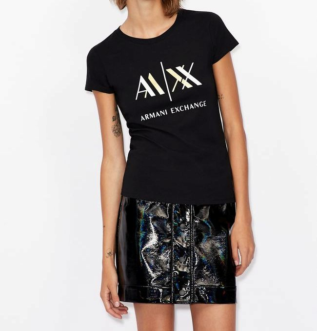 T-shirt donna ARMANI EXCHANGE slim fit