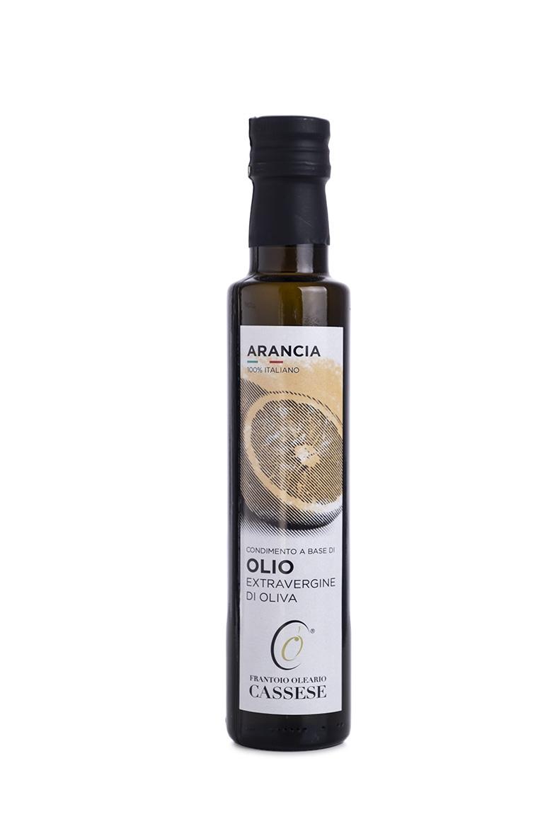 Olio EVO aromatizzato all' Arancia 100% Italiano - Frantoio Oleario Cassese